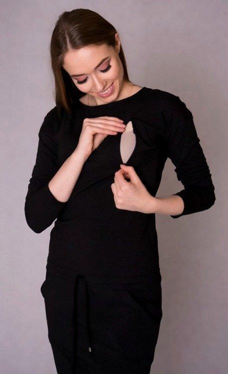 7809253b1d 106 Sportowa sukienka ciążowa i do karmienia rękaw 3 4 MIRACLE ...
