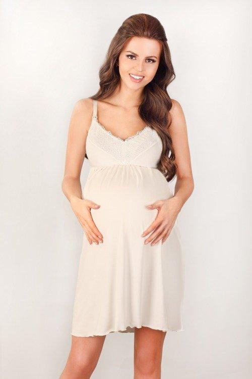 3022 MK Koszula Nocna dla kobiet w ciąży i karmiących  0wXuO