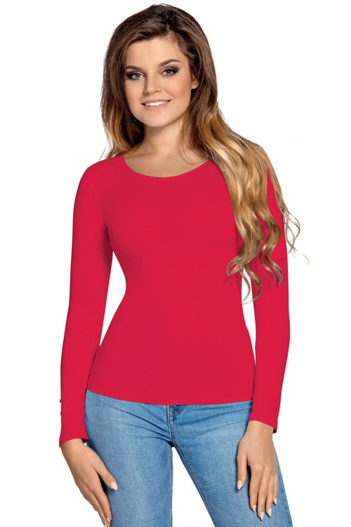 f489f9bed7 Manati Długi rękaw Bluzka damska Babell - czarwony czerwony