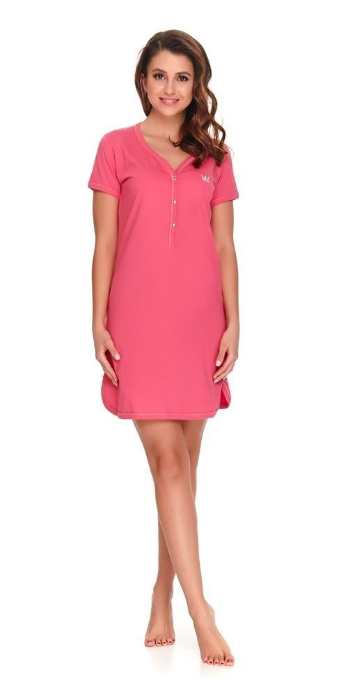 9505 Koszula Nocna do karmienia Doctor Nap hot pink hot  OUM9k